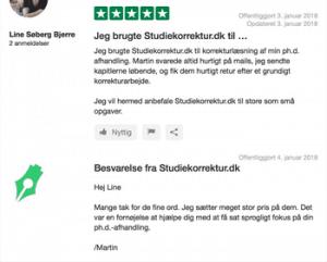 Opgavekorrektur - Studiekorrektur.dk